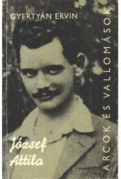 József Attila - Gyertyán Ervin - Régikönyvek