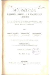Gyógyszerisme - Dr. Jakabházy Zsigmond, Dr. Nyiredy Géza, Issekutz Huggó dr. - Régikönyvek