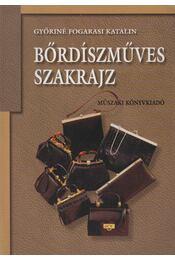 Bőrdíszműves szakrajz - Győriné Fogarasi Katalin - Régikönyvek