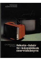 Fekete-fehér tv-készülékek szervizkönyve - Gyurkovics Attila - Régikönyvek