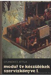 Modul tv-készülékek szervizkönyve I. - Gyurkovics Attila - Régikönyvek