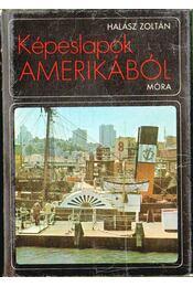 Képeslapok Amerikából - Halász Zoltán - Régikönyvek