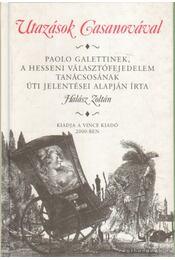 Utazások Casanovával - Halász Zoltán - Régikönyvek
