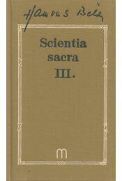 Scientia sacra III. - Hamvas Béla - Régikönyvek