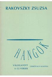 Hangok - Rakovszky Zsuzsa - Régikönyvek