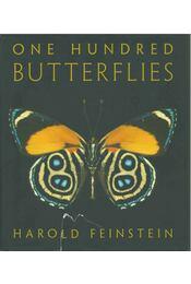 One Hundred Butterflies - Harold Feinstein - Régikönyvek
