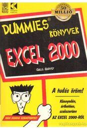 Excel 2000 - Harvey, Greg - Régikönyvek