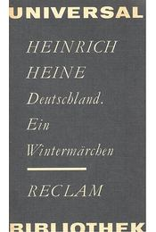 Deutschland - Ein Wintermärchen - Heine, Heinrich - Régikönyvek