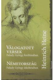 Válogatott versek / Németország - Heine, Heinrich - Régikönyvek
