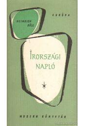 Írországi napló - Heinrich Böll - Régikönyvek