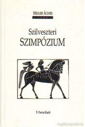 Szilveszteri szimpózium - Heller Ágnes - Régikönyvek