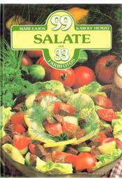 99 Salate mit 33 Farbfotos - Hemző Károly, Lajos Mari - Régikönyvek