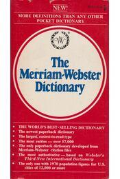 The Merriam-Webster Dictionary - Henry Bosley Woolf - Régikönyvek