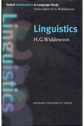 Linguistics - Henry Widdowson - Régikönyvek