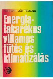 Energiatakarékos villamos fűtés és klimatizálás - Herbert Jüttemann - Régikönyvek