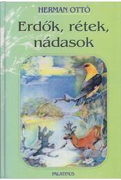 Erdők, rétek, nádasok - Herman Ottó - Régikönyvek