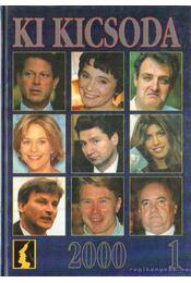 Ki kicsoda 2000 1-2. kötet - Hermann Péter - Régikönyvek