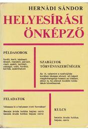 Helyesírási önképző - Hernádi Miklós - Régikönyvek