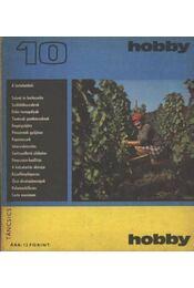 Hobby 10. - Hetényi István - Régikönyvek