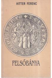 Felsőbánya monográfiája - Hitter Ferenc - Régikönyvek