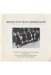Holocaust Magyarországon - Régikönyvek