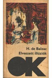 Elveszett illúziók I-II. kötet - Honoré de Balzac - Régikönyvek