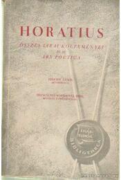 Horatius összes lírai költeményei és az Ars Poetica - Horatius - Régikönyvek