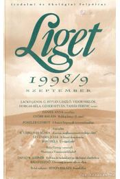 Liget 1998/ 9. szám - Horgas Béla, Levendel Júlia - Régikönyvek