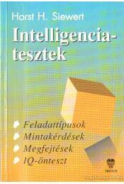 Intelligenciatesztek - Horst H. Siewert - Régikönyvek