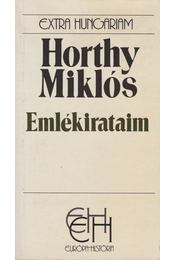 Emlékirataim - Horthy Miklós - Régikönyvek