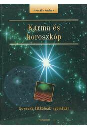 Karma és horoszkóp - Horváth Andrea - Régikönyvek