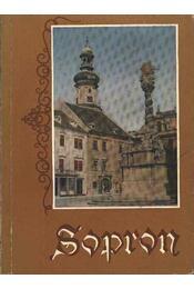 Sopron - Horváth Ferenc, Csatkai Endre, Becht Rezső, Friedrich Károly, Thier László - Régikönyvek