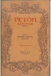 Petőfi Sándor - Horváth János - Régikönyvek