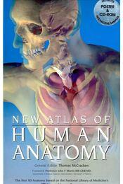 New Atlas of Human Anatomy - with CD - Thomas O. McCracken - Régikönyvek