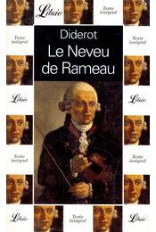 Le Neveu de Rameau - Diderot, Denis - Régikönyvek