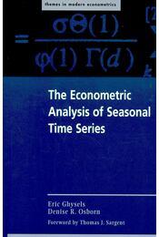 The Econometric Analysis of Seasonal Time Series - GHYSELS, ERIC – OSBORN, DENISE R. - Régikönyvek