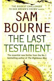 The Last Testament - Bourne, Sam - Régikönyvek