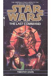 The Last Command - Zahn, Timothy - Régikönyvek