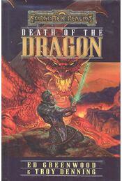 Death of the Dragon - GREENWOOD, ED - DENNING, TROY - Régikönyvek