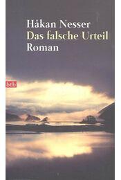 Das falsche Urteil - Hakan Nesser - Régikönyvek