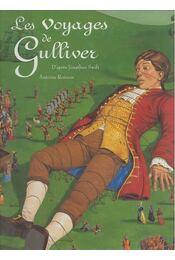 Les voyages de Gulliver - SWIFT, JONATHAN - RONZON, ANTOINE - Régikönyvek