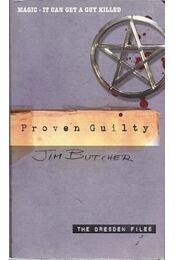 Proven Guilty - Jim Butcher - Régikönyvek