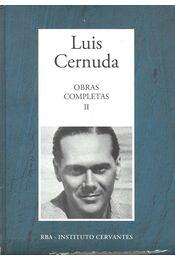 Obras Completas #2 - CERNUDA, LUIS - Régikönyvek