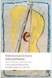 Selected Poems - Federico Garcia Lorca - Régikönyvek