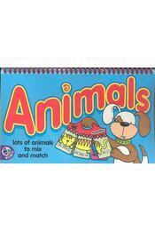 Animals - Fliipcards 2-6 years - CLEMPER, JANE - Régikönyvek
