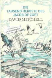 Die tausend Herbste des Jacob de Zoet - David Mitchell - Régikönyvek