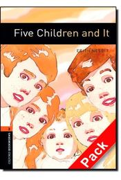 Five Children and It Audio CD Pack - Stage 2 - NESBIT, EDITH - MOWAT, DIANE - Régikönyvek