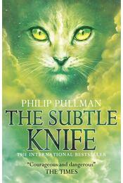 The Subtle Knife - Philip Pullman - Régikönyvek