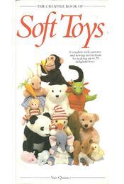 The Creative Book of Soft Toys - QUINN, SUE - Régikönyvek