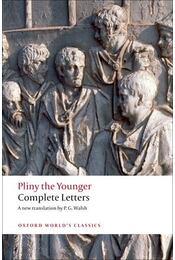 Complete Letters - PLINY THE YOUNGER - Régikönyvek